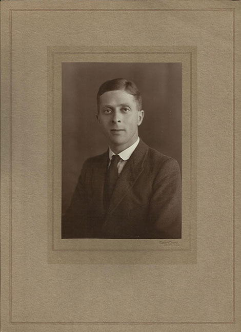 George Tudor Child (1895-1975), Amy's twin brother.