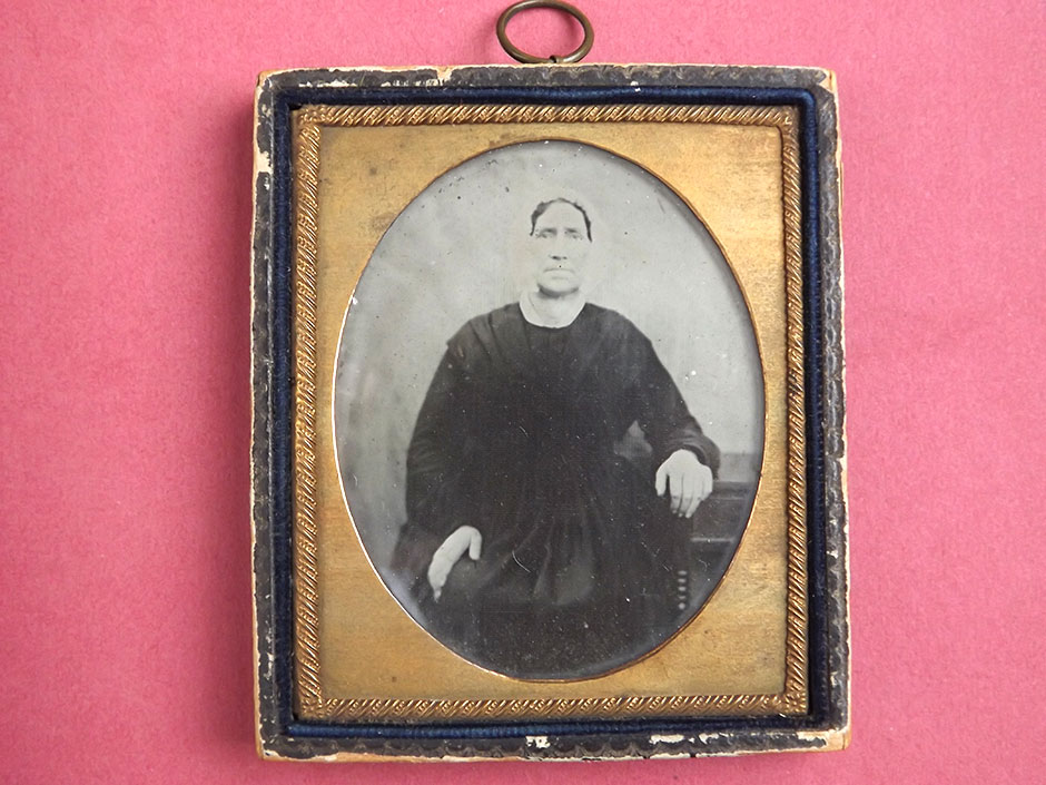 Photograph of Ambrotype taken from the Helen Kegie Collection