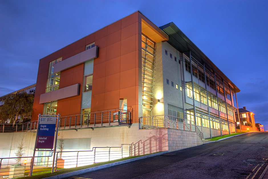 The Kegie Building at the University (Photo by courtesy of the University of South Wales)